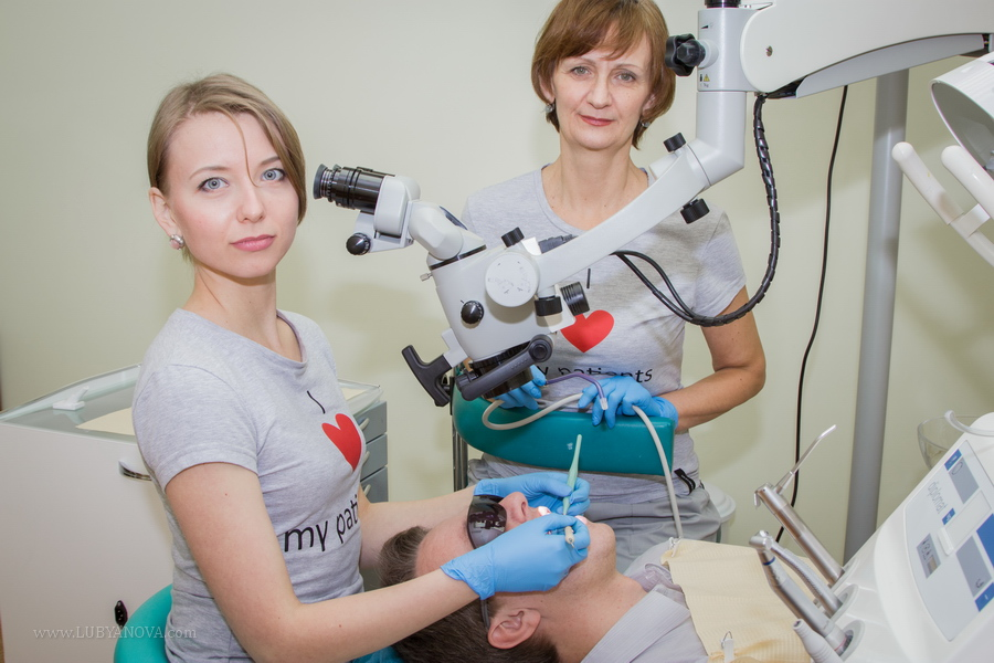 лечение каналов зубов с микроскопом
